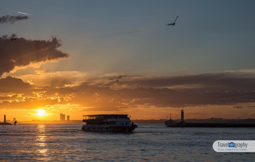 Sonnenuntergang von Kadiköy