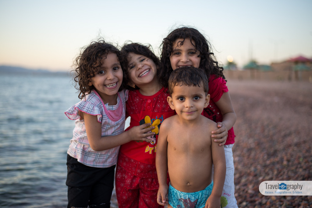 Kinder Jordaniens