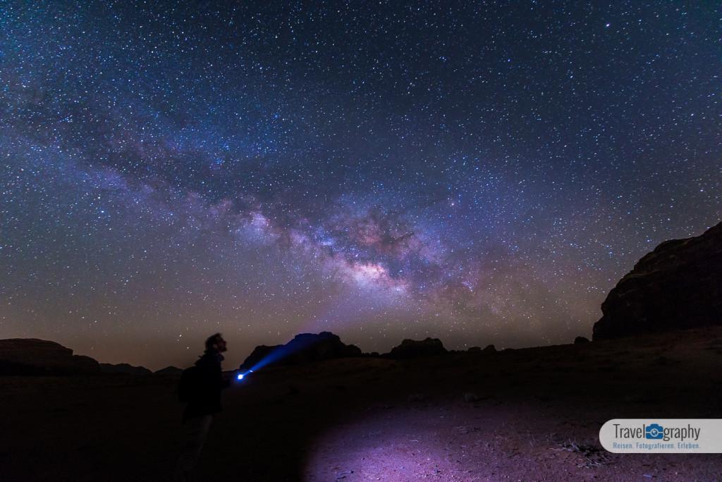 Ich unter der Milchstraße