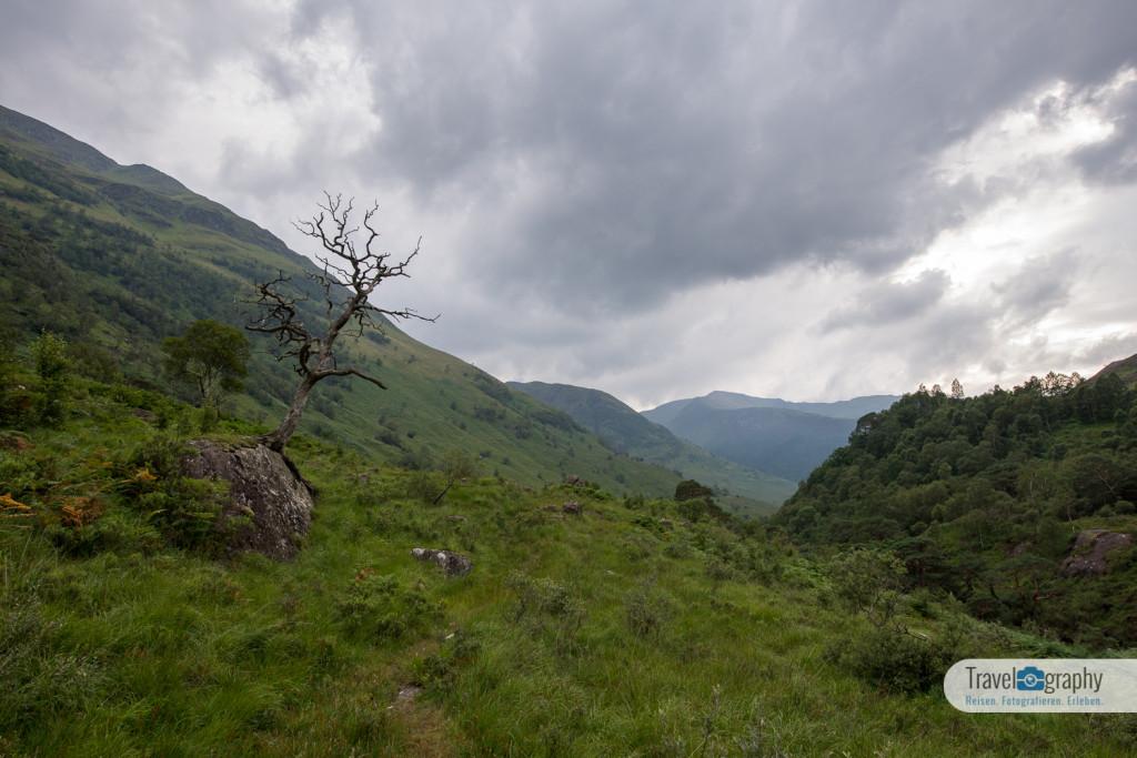 Das Glen Nevis Tal