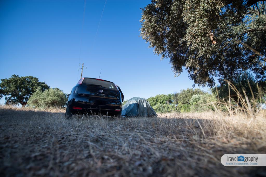 Zelten in Monsaraz