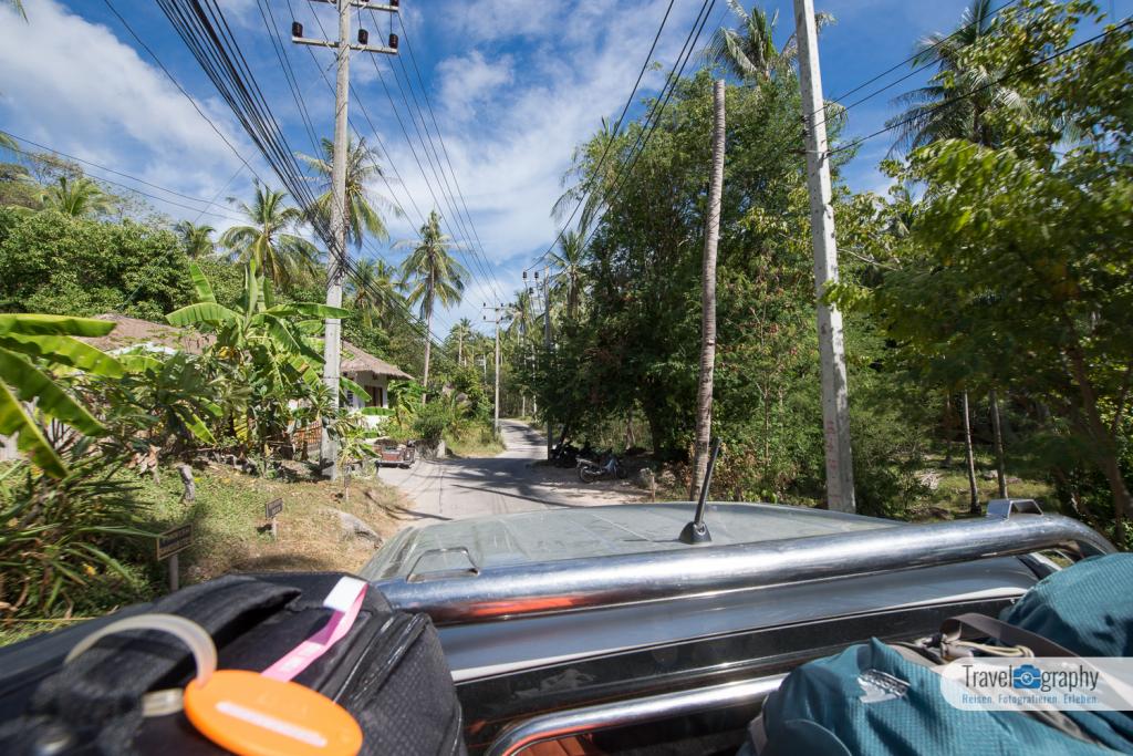 Fahrt zur Tanote Bay