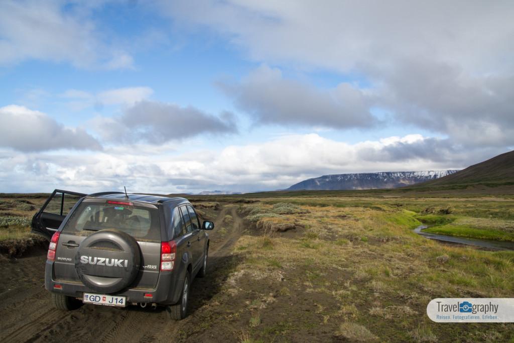 Mit dem Jeep durch Island