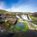 Dunseverick Waterfall - Rundreise Irland