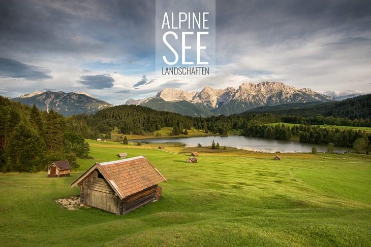 Alpine Seelandschaften