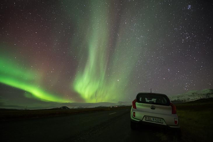 Island Tipps: Aurora Borealis