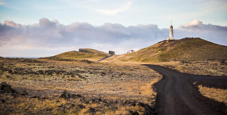 Island Tipps: Reykjanesskagi Valahnúkur Leuchtturm