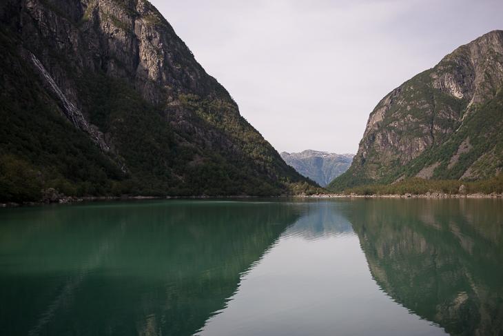 Der Blick über den Bondhusvatnet