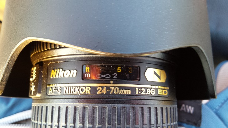 Fokussieren mit dem Nikkor 24-70