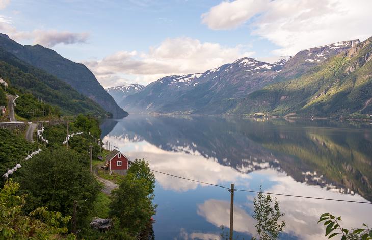 Blick in den Sørfjord