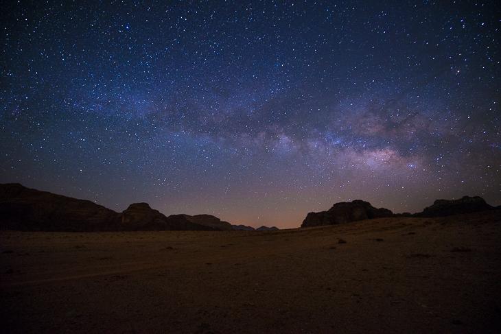 Unter der Milchstraße