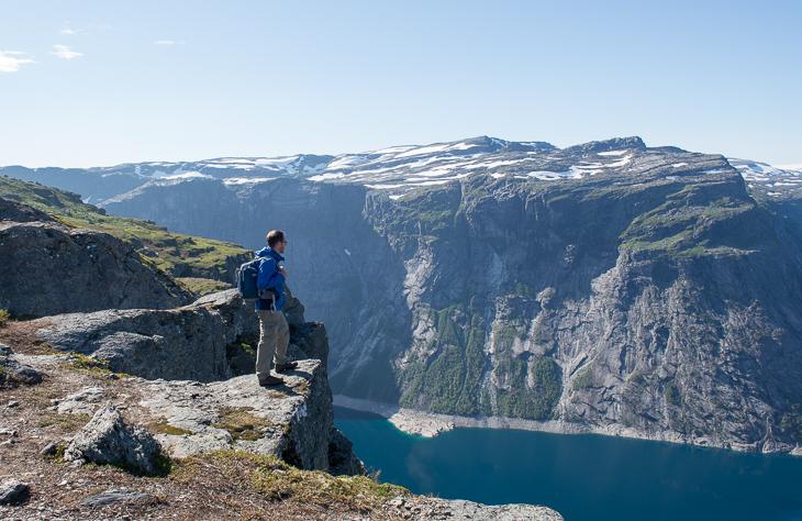 Unterwegs mit dem Lowepro Flipside Sport in Norwegen