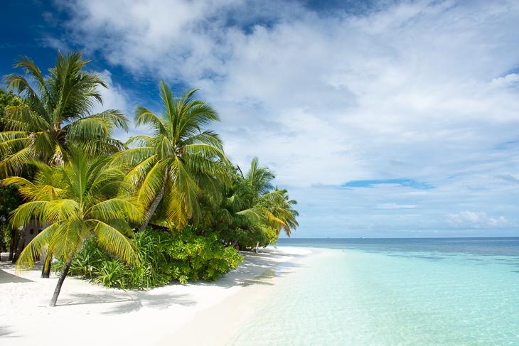 Der Strand auf Athuruga