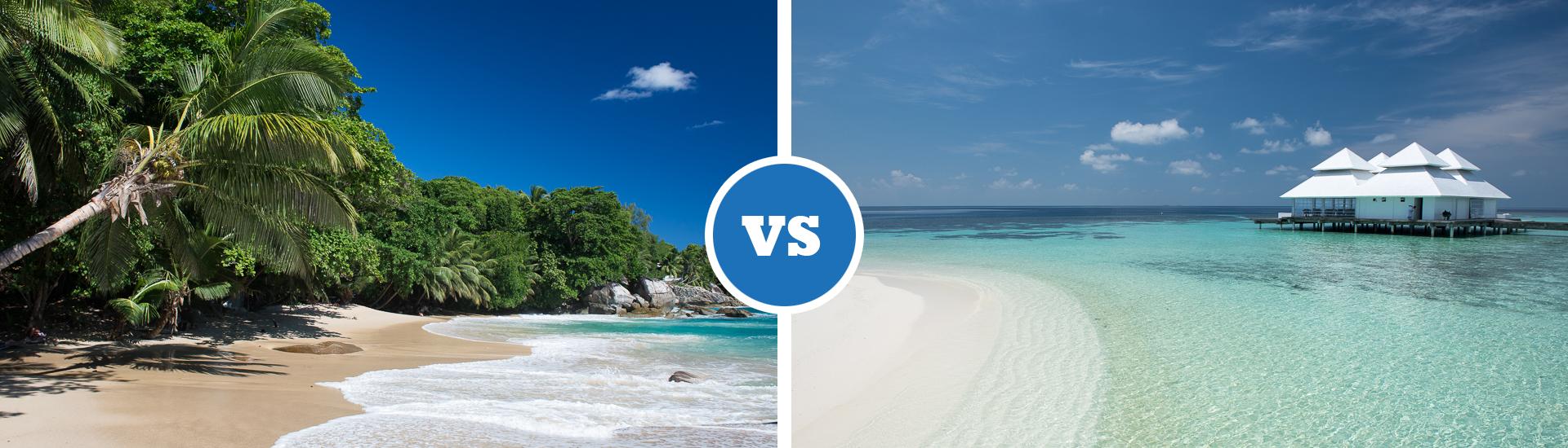 Seychellen Malediven Karte.Ab Ins Paradies Seychellen Oder Malediven Reiseblog Travelography