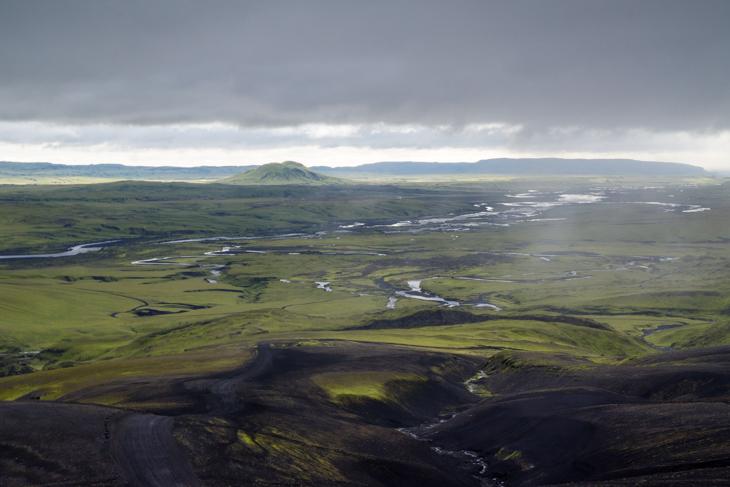 Unterwegs im Hochland Islands