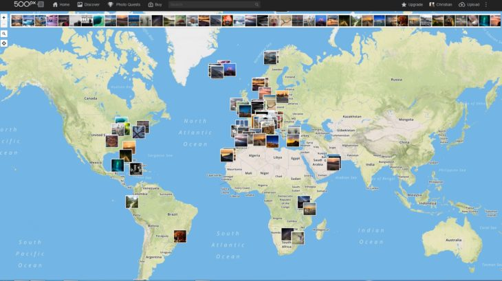 500px Map Screenshot