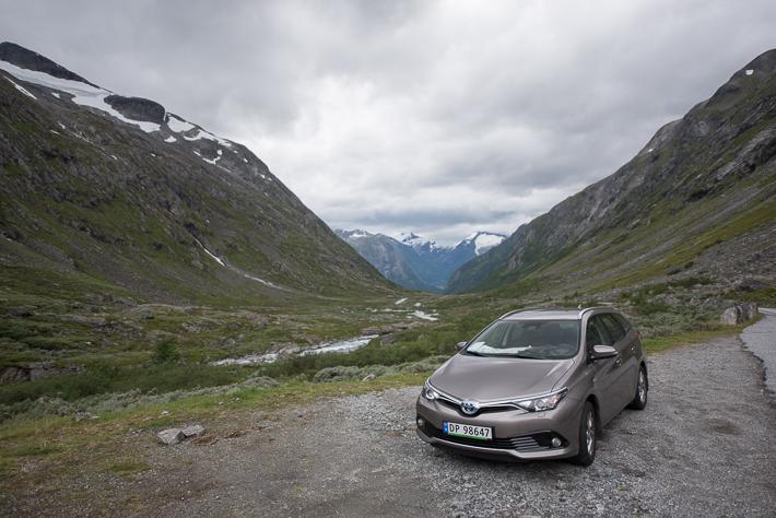 Unterwegs auf norwegischen Landschaftsrouten