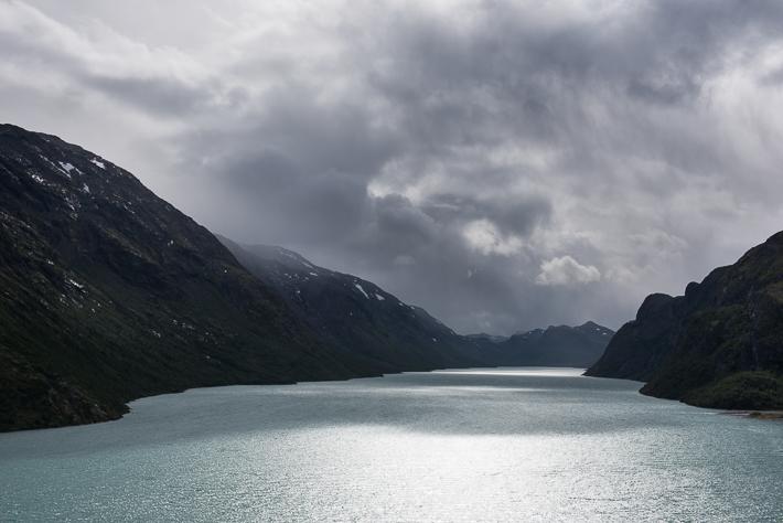 Wechselhaftes Wetter in Jotunheimen