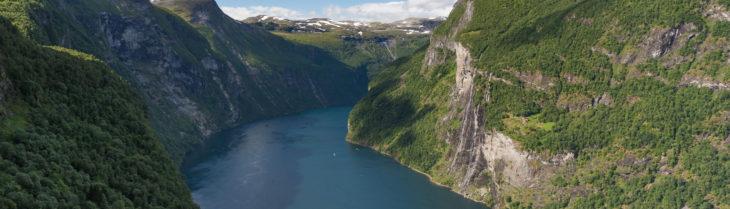 sieben schwester geirangerfjord