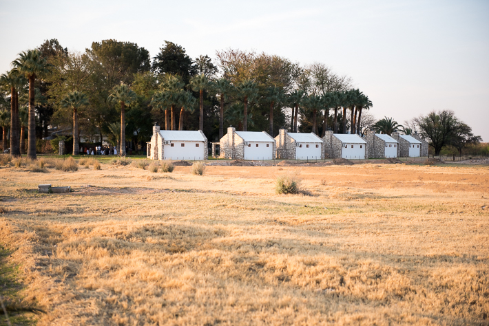 Die Oase in der Kalahari - das Farmhouse