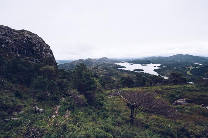 Unterwegs im Umland von Bergen