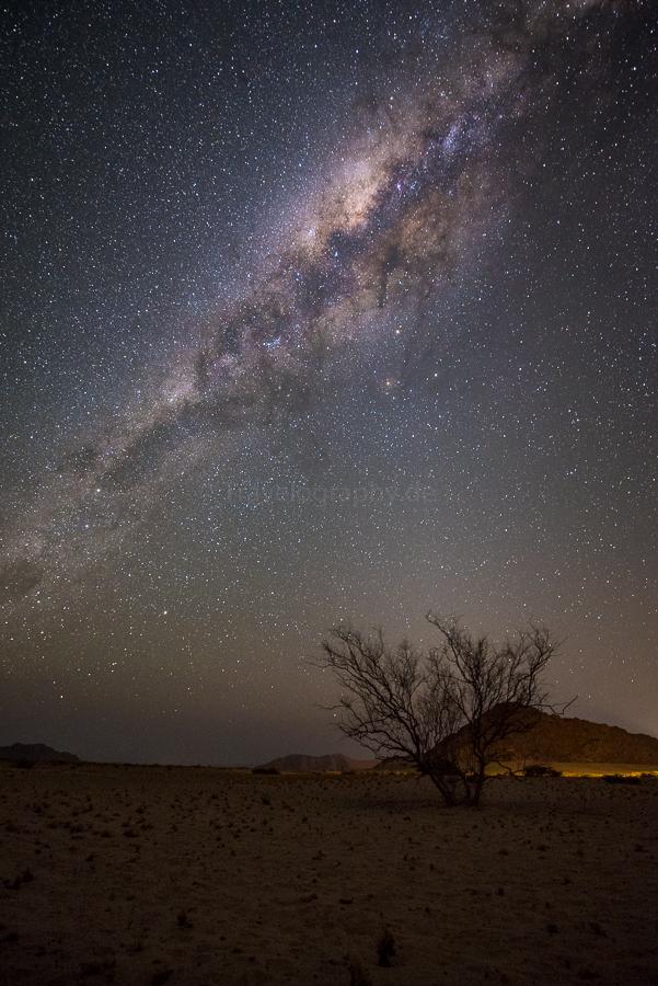 Nachts in der Namib - ein unglaubliches Gefühl!