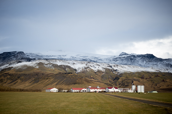 Südisland: Der Eyjafjallajökull im Hintergrund