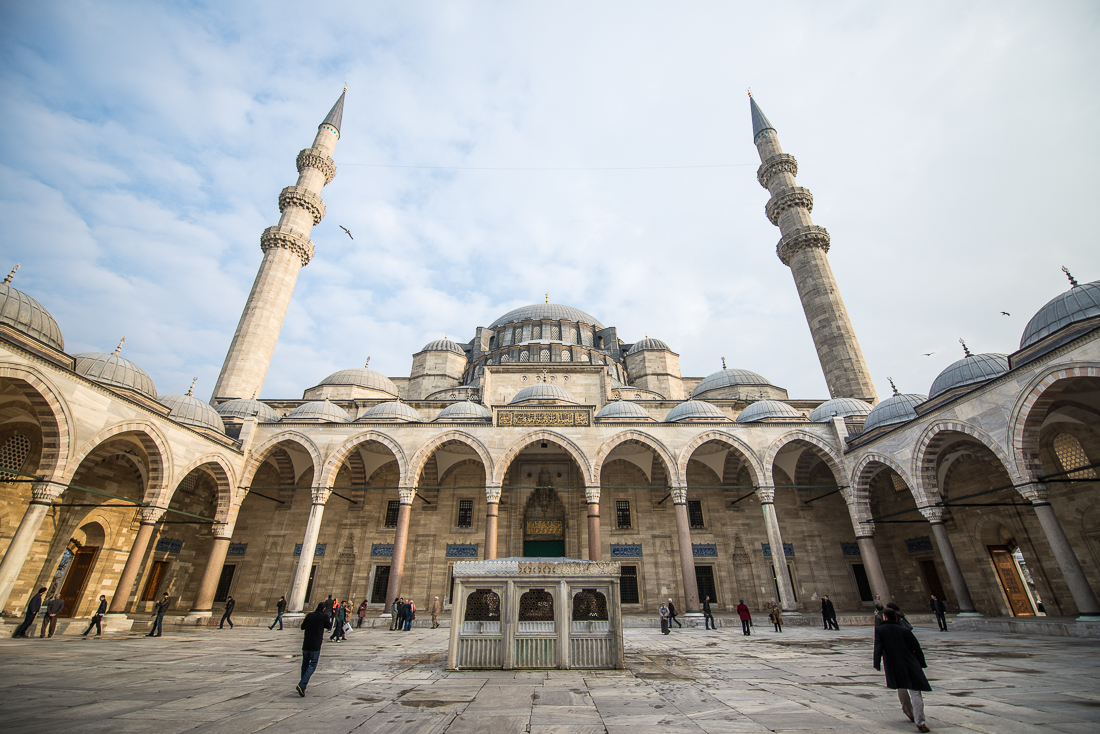 Sultan-Ahmed-Moschee - auch bekannt als die blaue Moschee