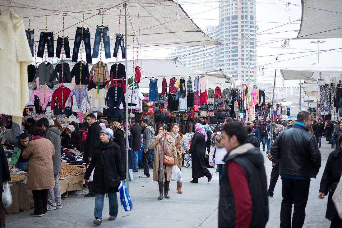 Der Sali Pazari - ein Markt den kaum ein Tourist kennt