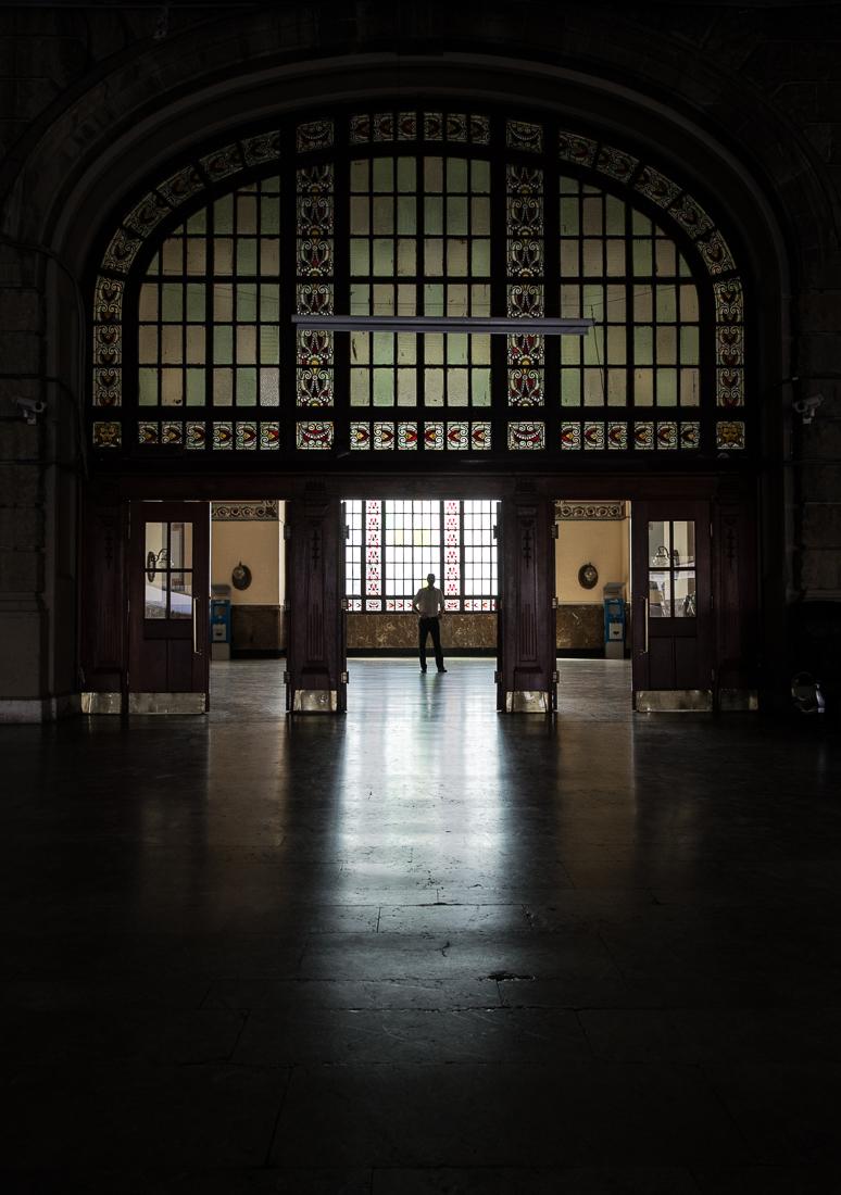 Im Bahnhof Istanbul Haydarpaşa