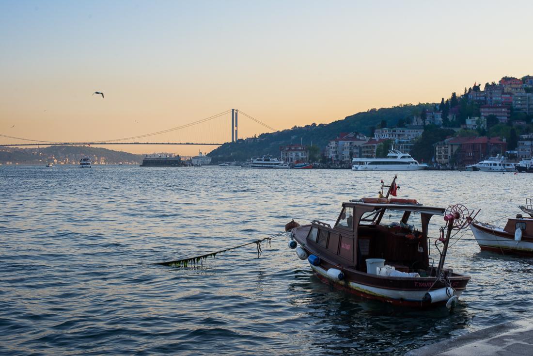 Am Ufer des Bosporus in Bebek