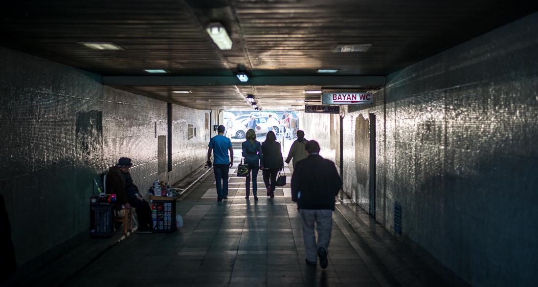 Eminönü - die Verbindung zwischen Fähranleger und Busplatz