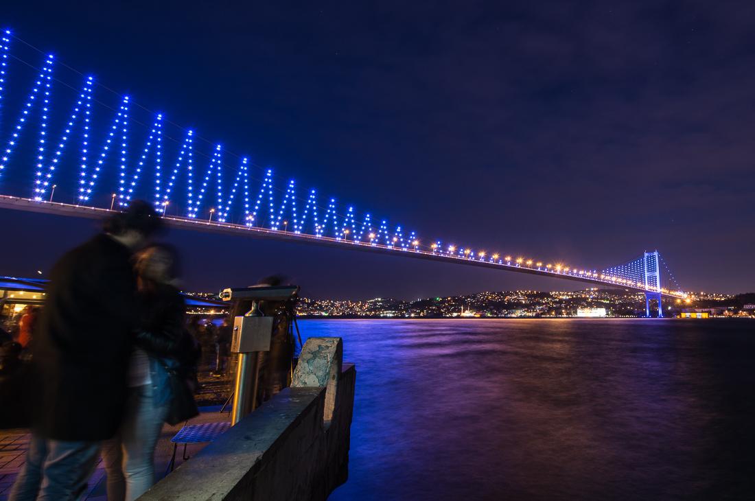 Ortaköy und der fantastische Blick auf die Bosporus Brücke