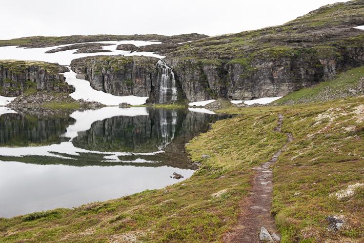 Wasserfall am Flotvatnet