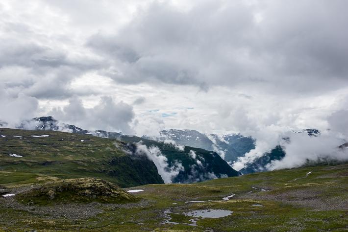 Über den Wolken Aurlandsfjellet (1)