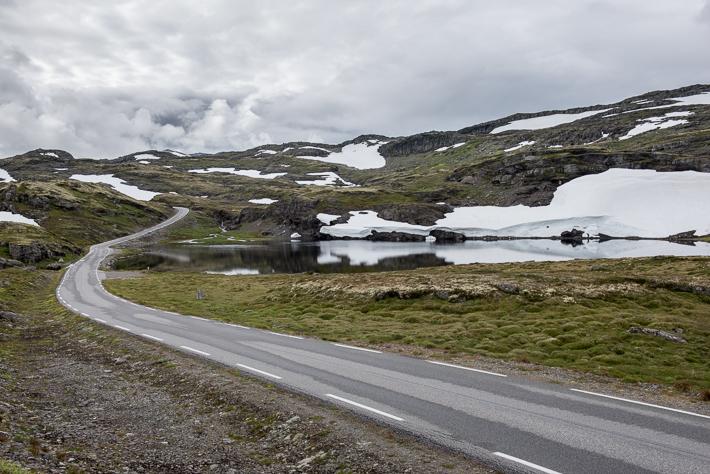 Aurlandsfjellet (3) Schnee im August