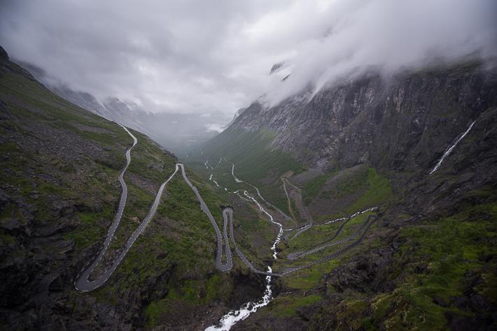 Die bekannten Trollstigen