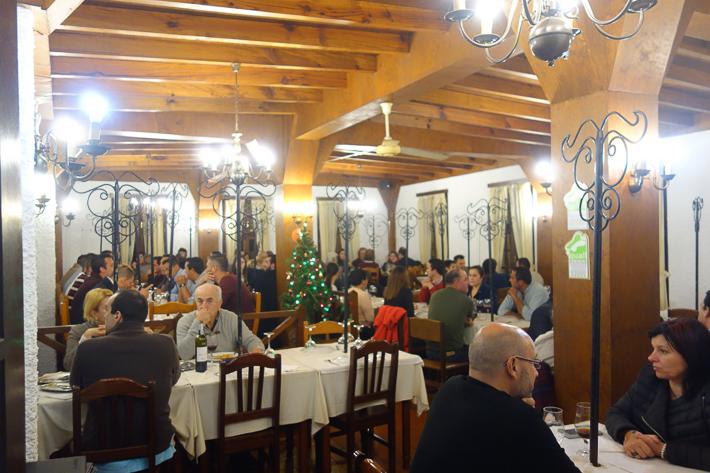 Der Besuch im Restaurant Vides
