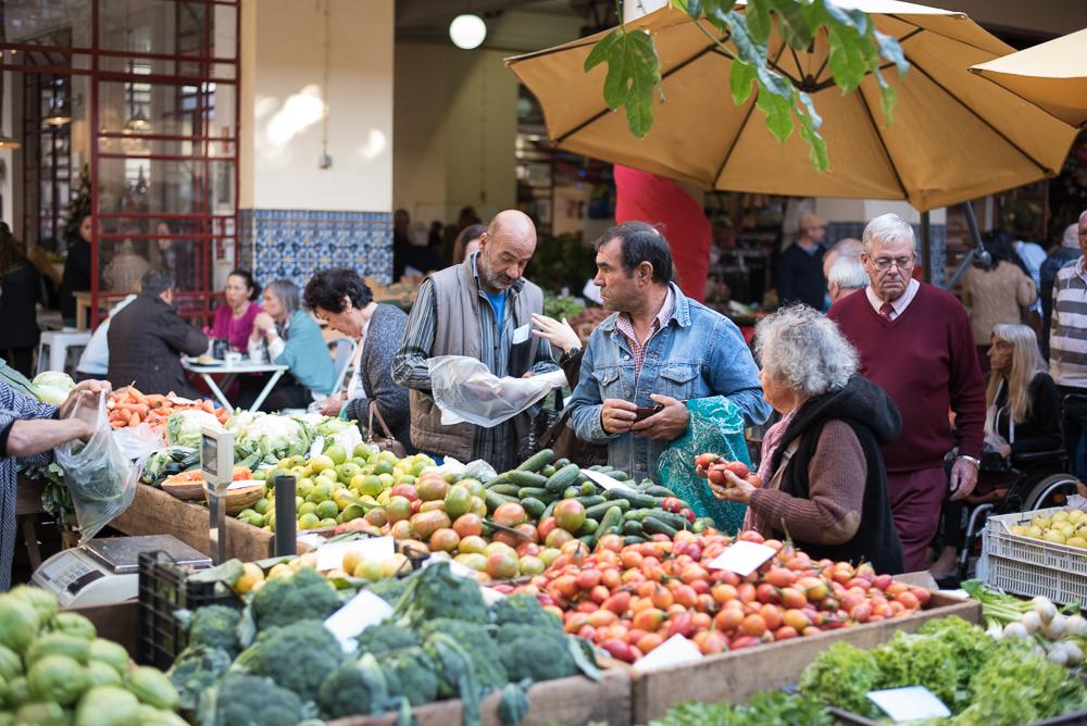 Einkaufen auf dem Mercado dos Lavradores
