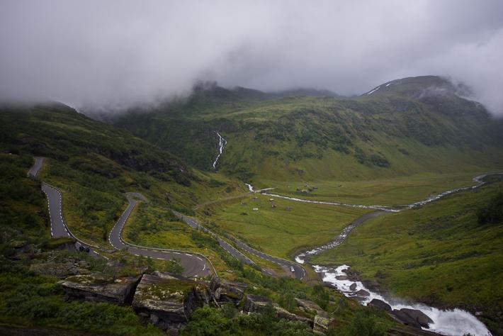 Der Blick hinab ins Kvassdalen