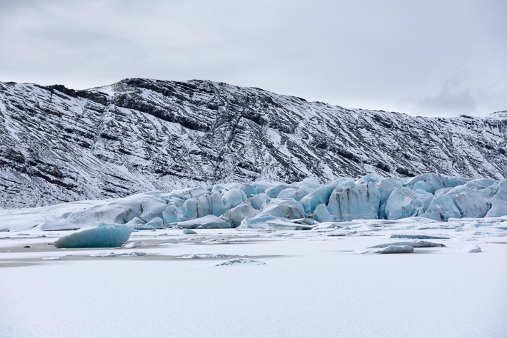 Das blaue Eis des Vatnajökull