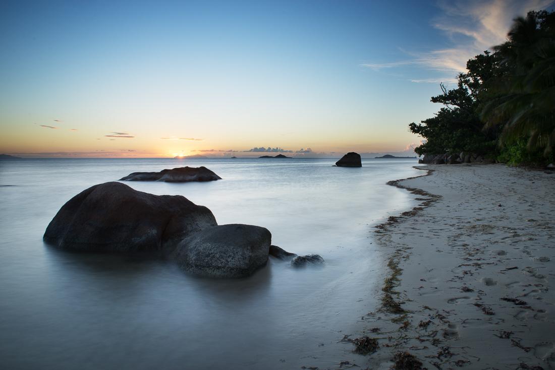 Praslin Sonnenuntergang