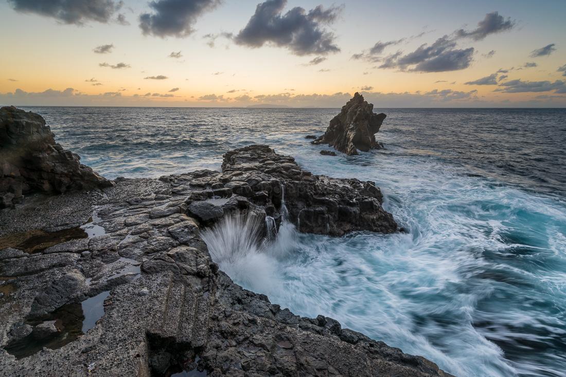 Santa Cruz auf Madeira am Morgen