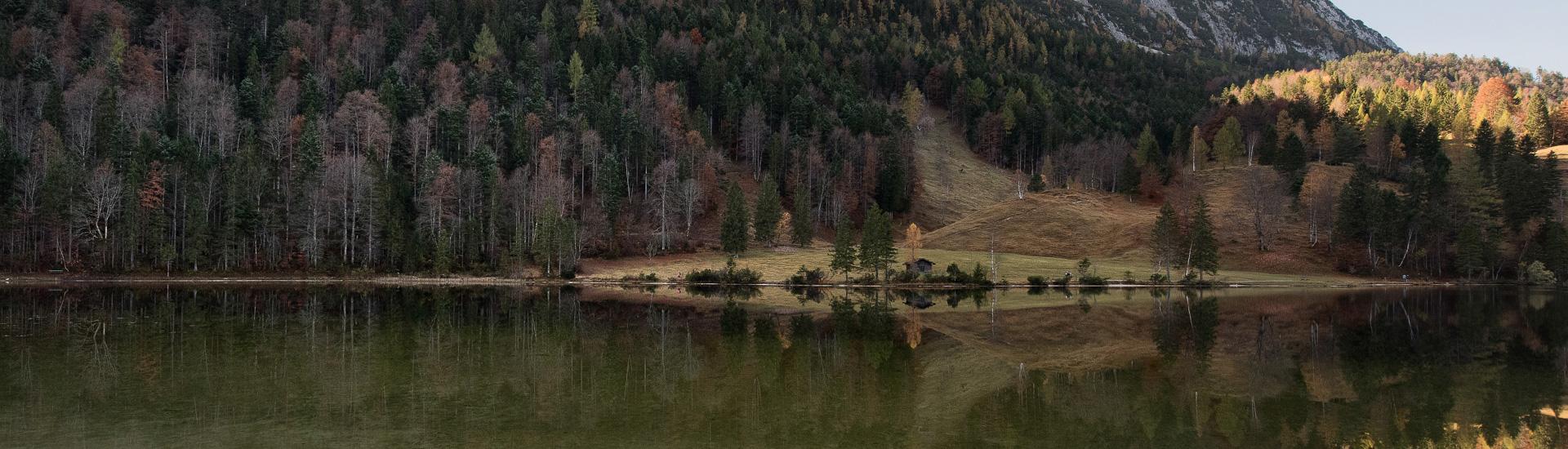 Schmalensee, Ferchensee, Barmsee – hier reflektiert sich das Karwendel