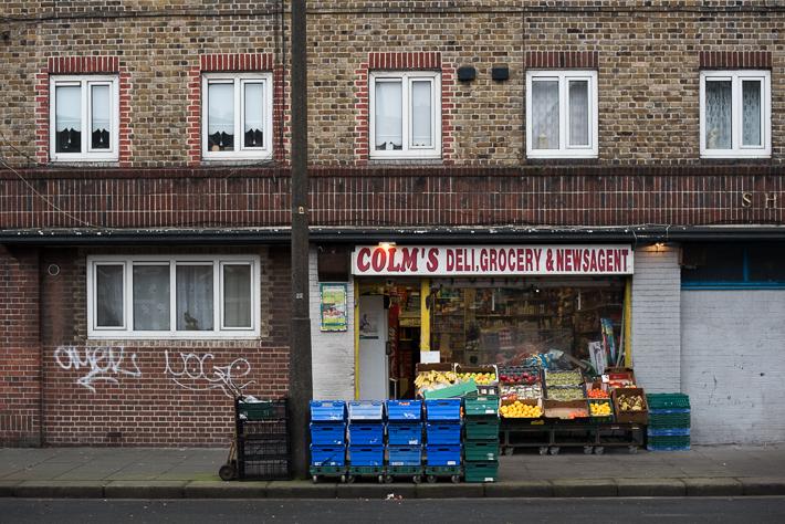 Egal, ob Kiosk oder Supermarkt - Lebensmittel bekommt man in Dublin fast überall