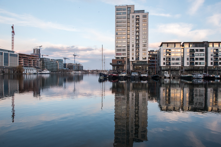 Dublin Docklands - teures Pflaster ..
