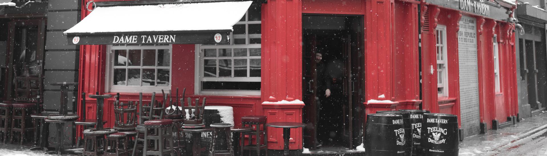 Dublin schneeweiß - Bilder vom Morgen nach St. Patrick's Day