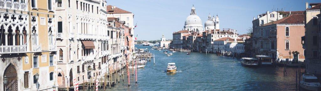 Venedig mit Kamera … und Kinderwagen