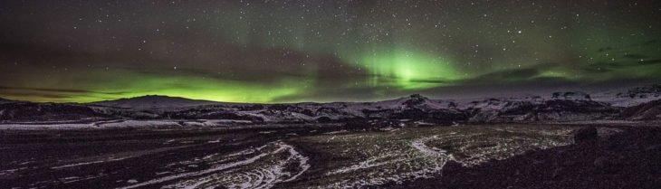 Nordlichter über Island